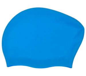 plavecká čepice silikonová na dlouhé vlasy