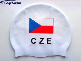 Personifikované plavecké čepice